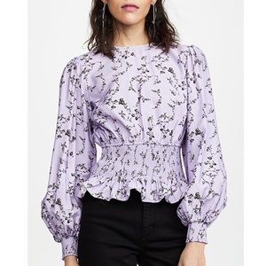 Keepsake Secure Smocked Top in Lilac